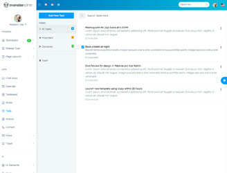 Bootstrap to-do application template
