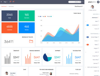 best bootstrap 3 rtl admin dashboard theme
