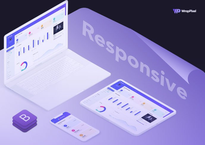 Building a Modern Looking Responsive Web Application using Bootstrap Templates