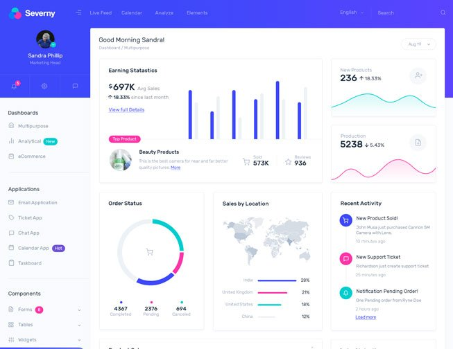 40+ Free Bootstrap Templates and Themes from WrapPixel