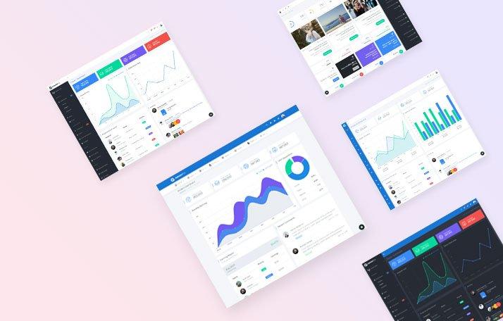 AdminPro Angular Dashboard Template